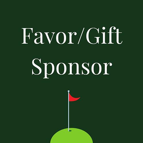 Favor/Gift Sponsor