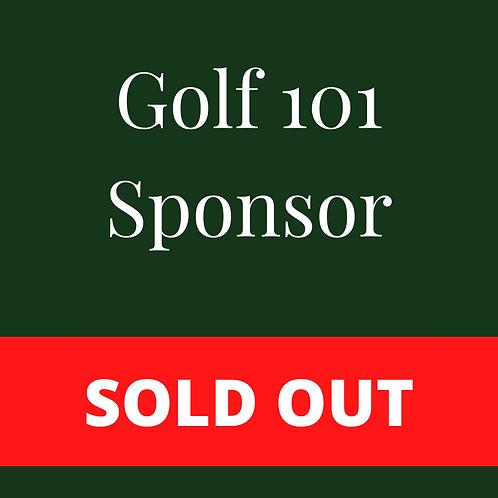 SOLD OUT - Golf 101 Sponsor