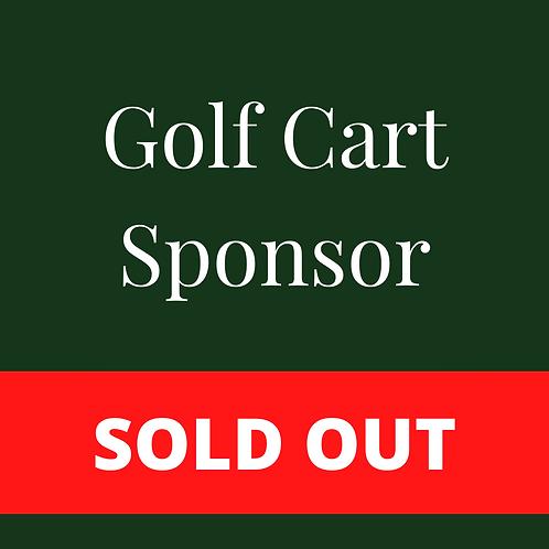 SOLD OUT - Golf Cart Sponsor