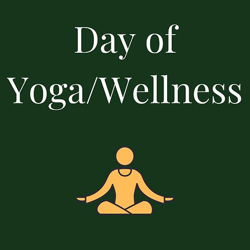 Day of Yoga/Wellness