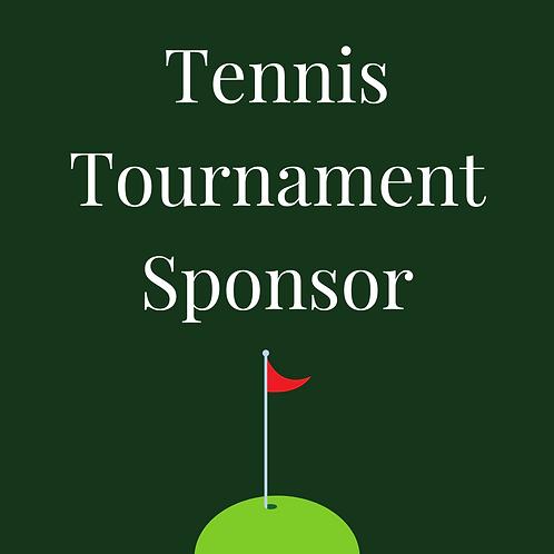 Tennis Tournament Sponsor