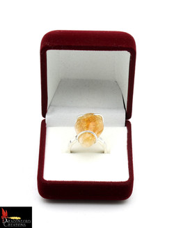 No435+Citrine+Ring