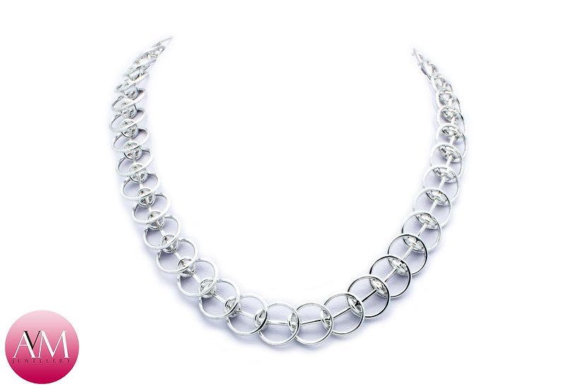 Sterling Silver I-Bar Necklace
