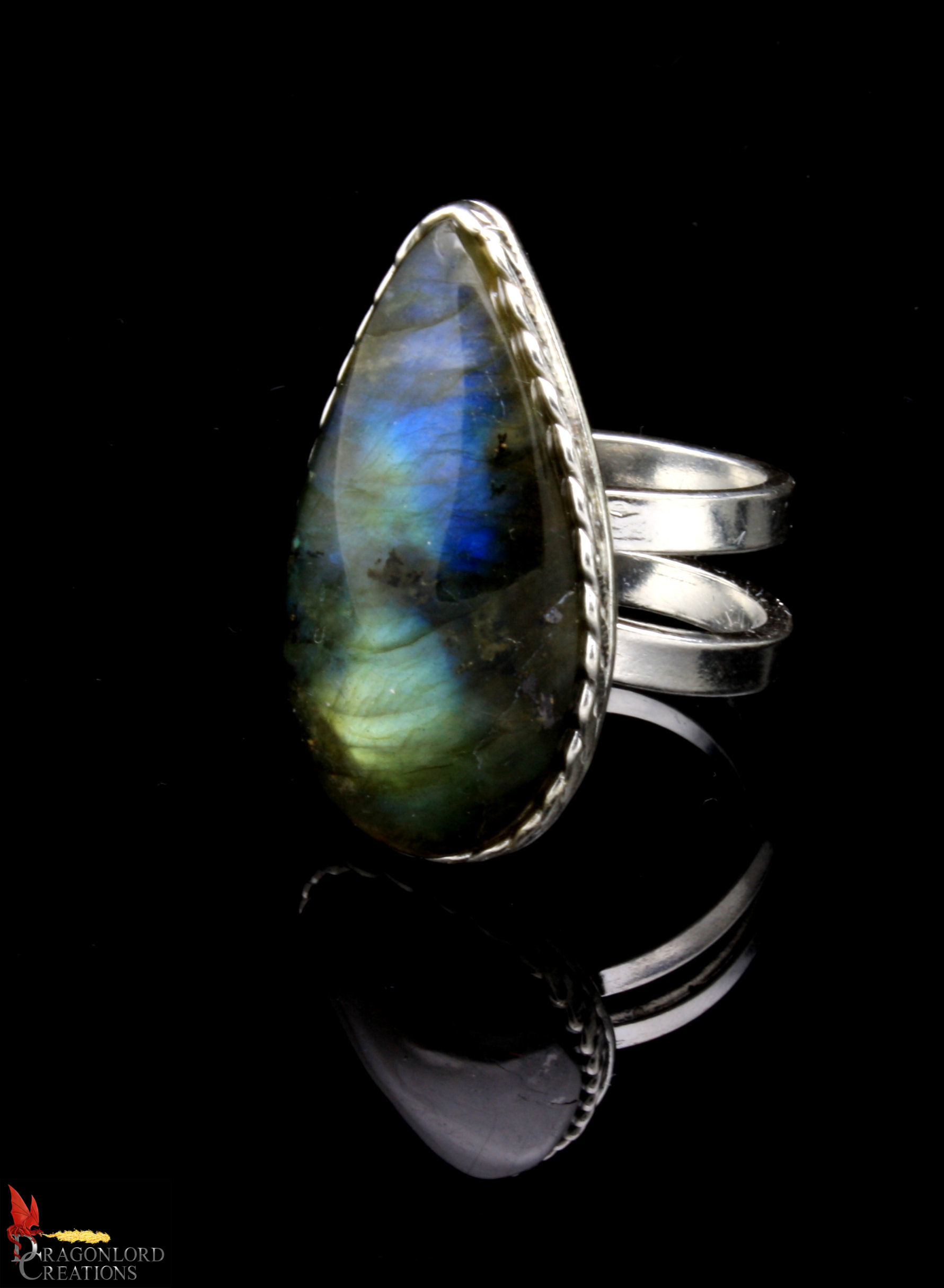 No374+Labradorite+Ring