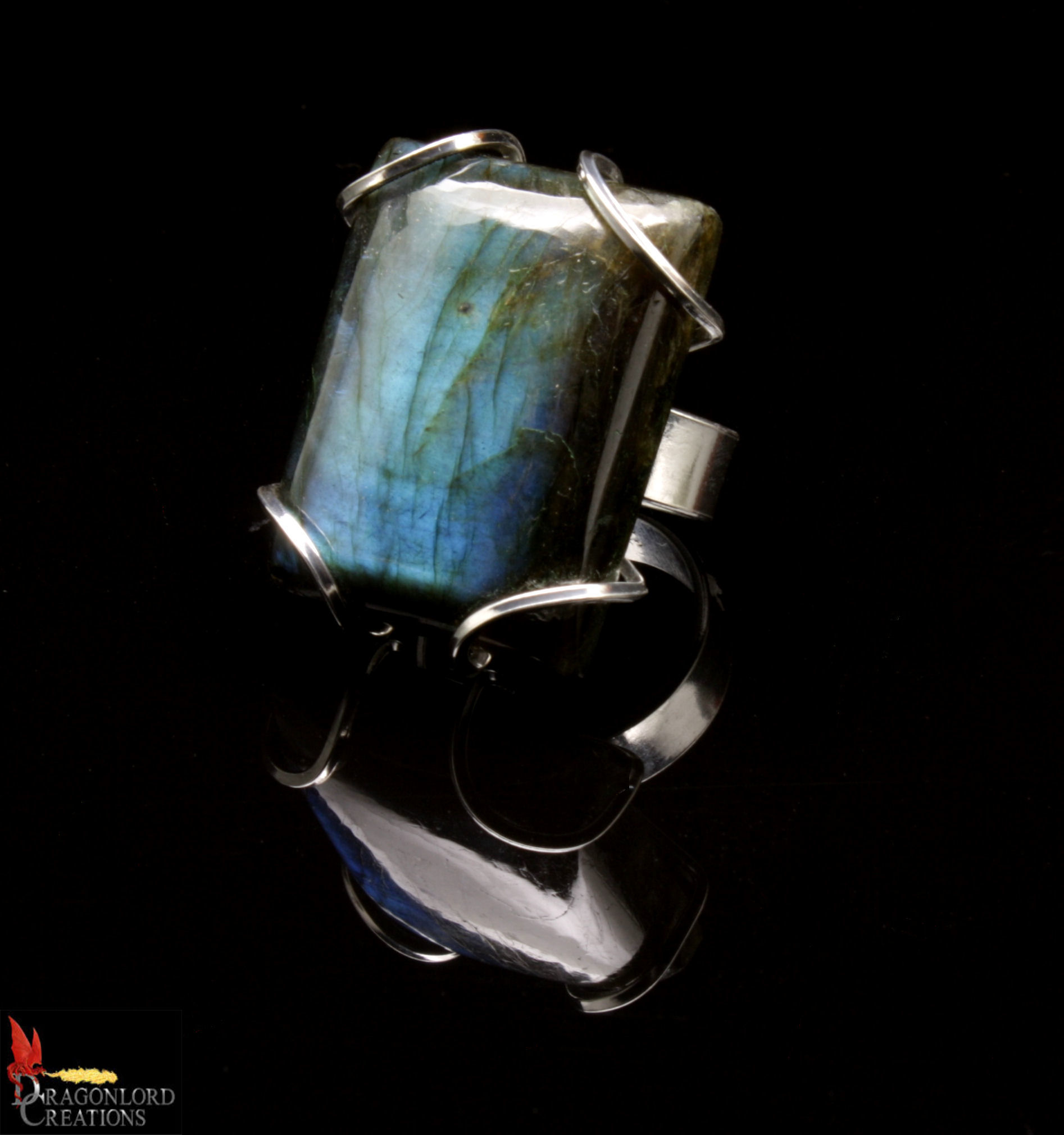 No560 Labradorite Ring