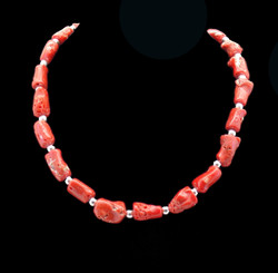 C.O. Coral Necklace