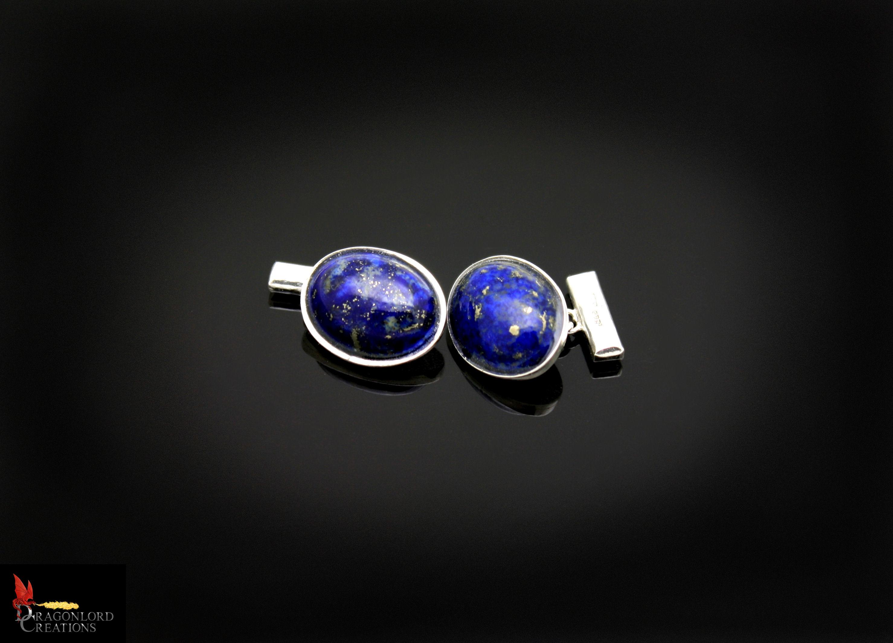 SOLD No896 Lapis Lazuli Cufflinks