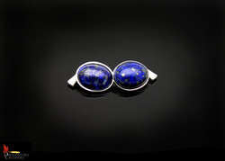 SOLD No896c Lapis Lazuli Cufflinks