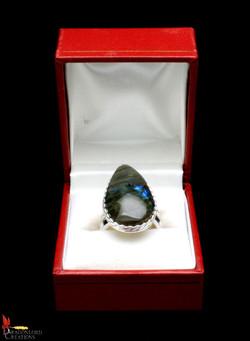 No374e+Labradorite+Ring