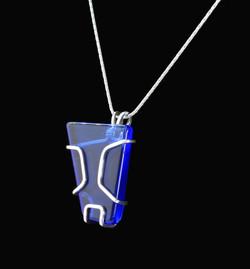 No241e+Blue+Siberian+Quartz+Pendant+with