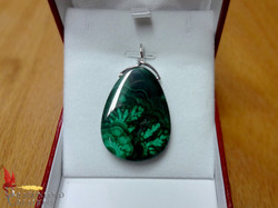 No1254 Malachite Pendant