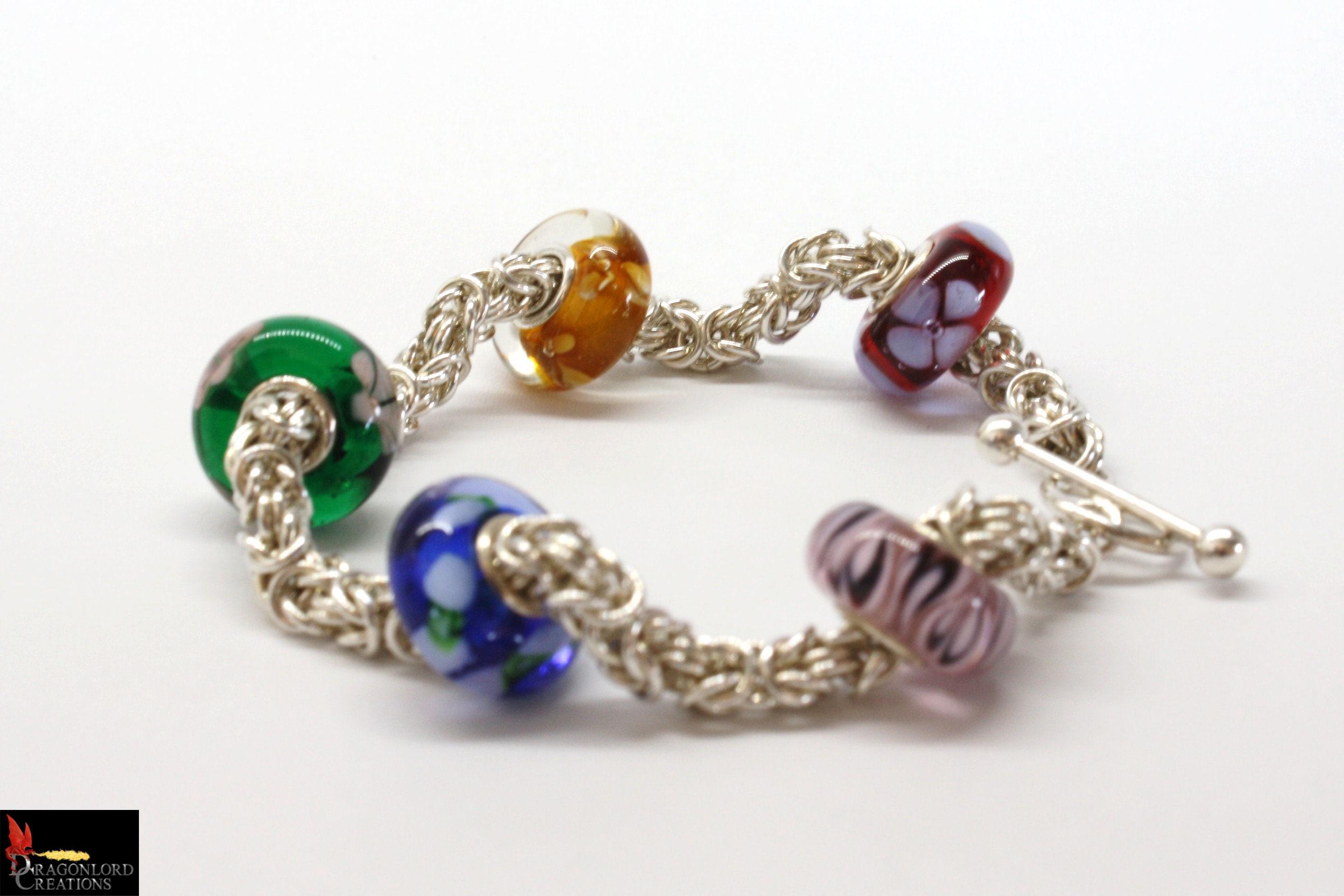 SOLD No101d Delicate Byzantine Bracelet