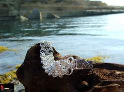 SOLD No093 Byzantine Lace Bracelet with