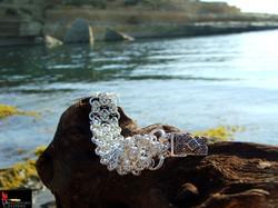 SOLD No093 Byzantine Lace Bracelet with