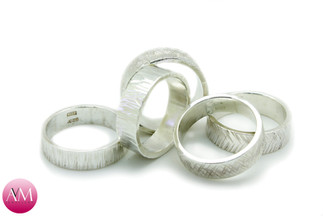 Textured Nature Rings
