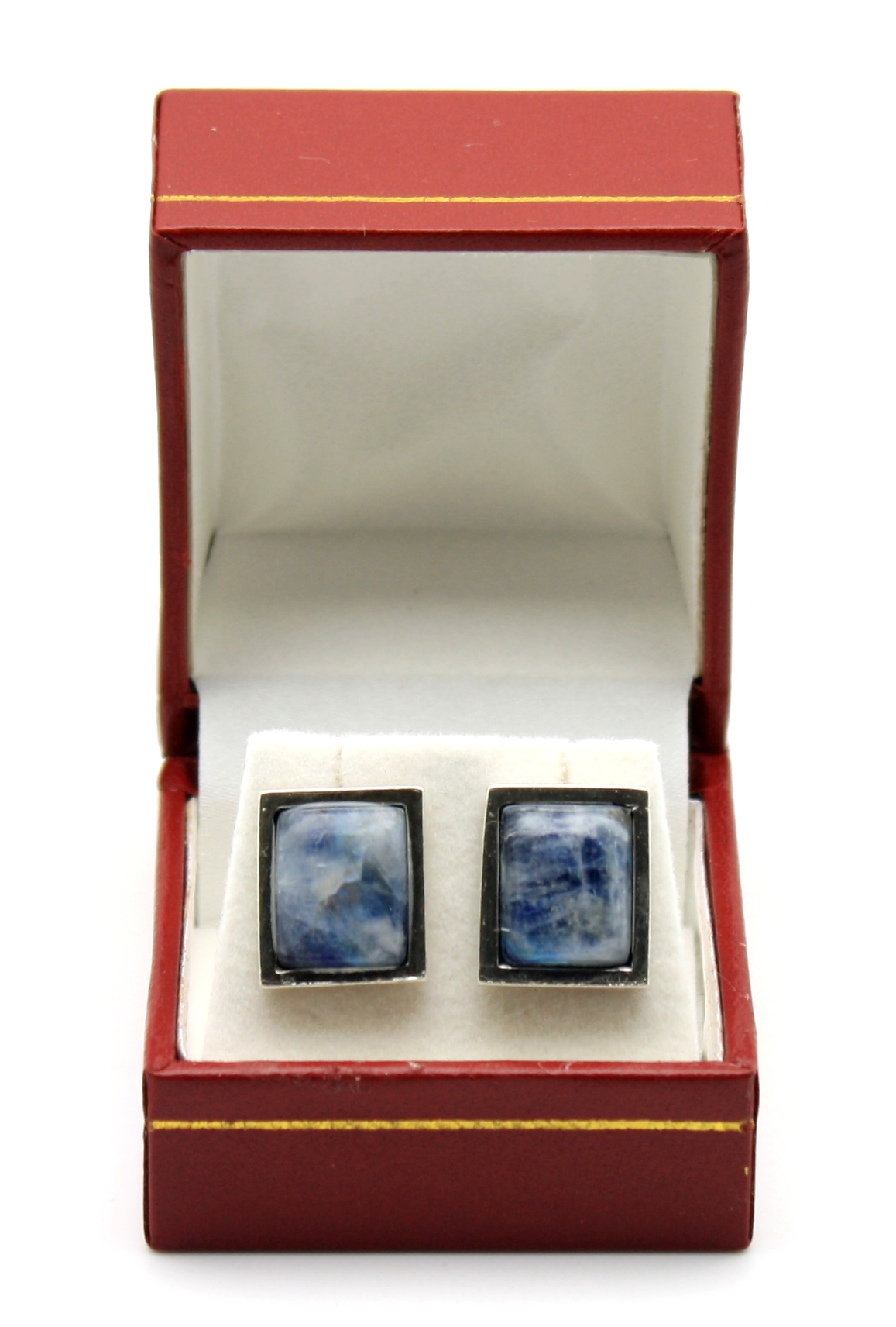No607 Moonstone Stud Earrings