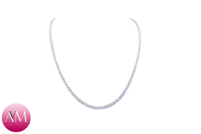 Delicate Sterling Silver 1in1 Chain Necklace