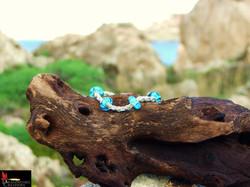 SOLD No069 Delicate Byzantine Bracelet w