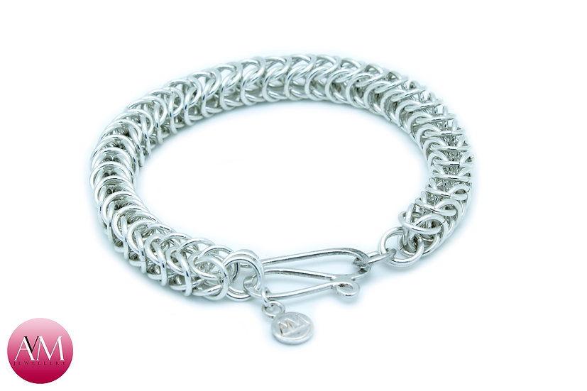 Sterling Silver Boxchain Bracelet