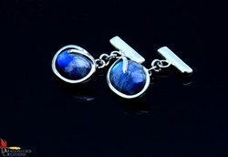 SOLD No754d C.O. Moonstone Cuff Links
