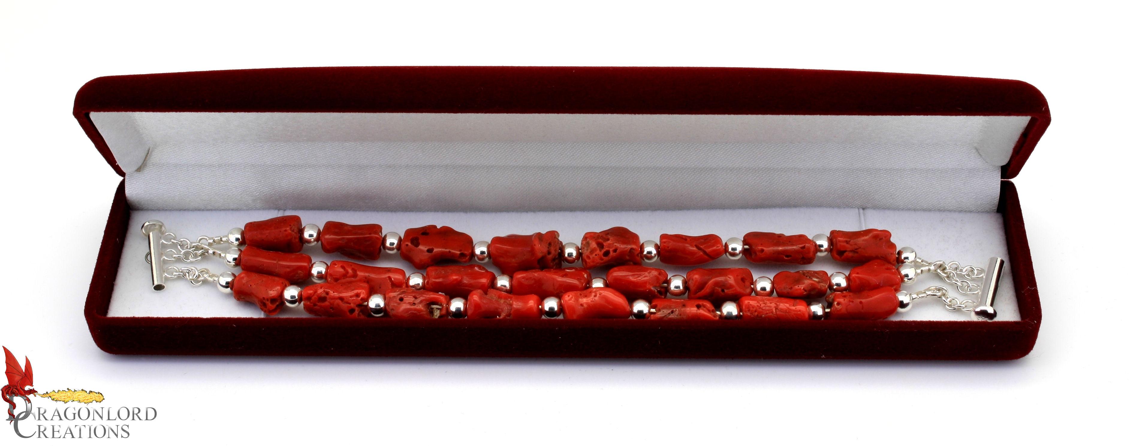 C.O. Coral Bracelet d