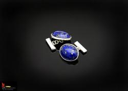 SOLD No896b Lapis Lazuli Cufflinks
