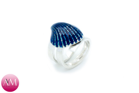 Blue Ridged Seashell