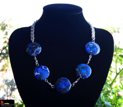 SOLD No593 Blue Jasper