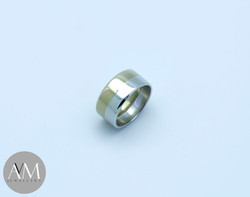 Jamie Gold Silver Ring