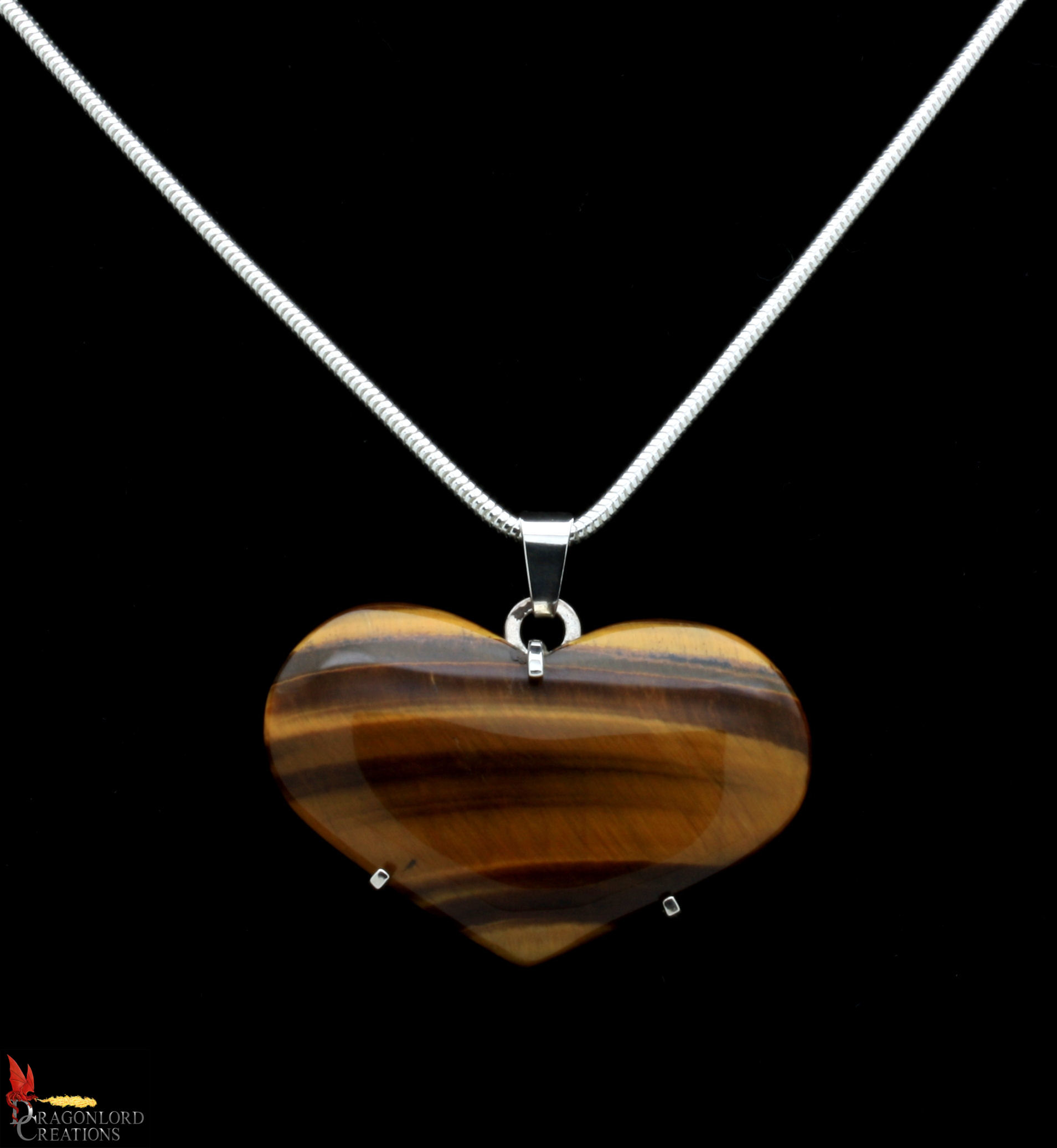 No557+Tigers+Eye+Heart+Pendant