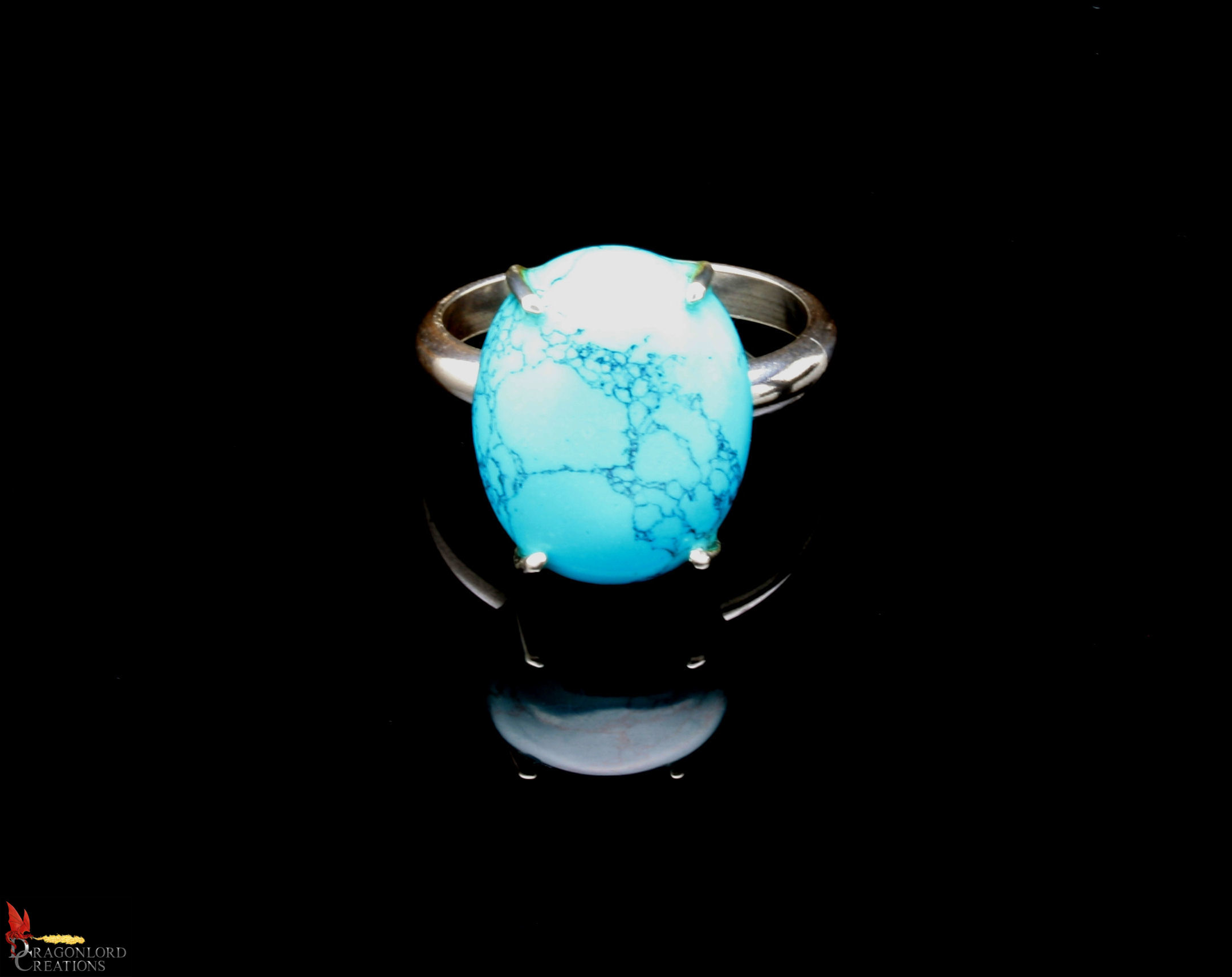 No547c+Spiderweb+Turquoise+Ring