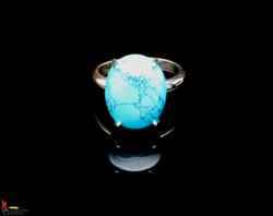 No547c+Spiderweb+Turquoise+Ring