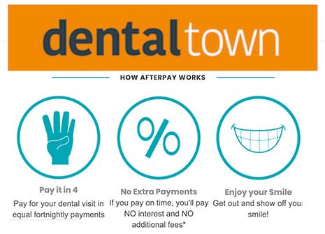 Afterpay Dentaltown Launceston Dentist P