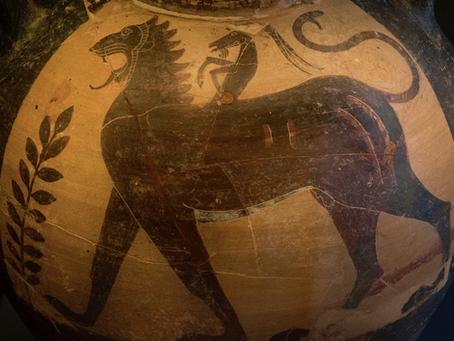Quimera : significado mitológico y artístico