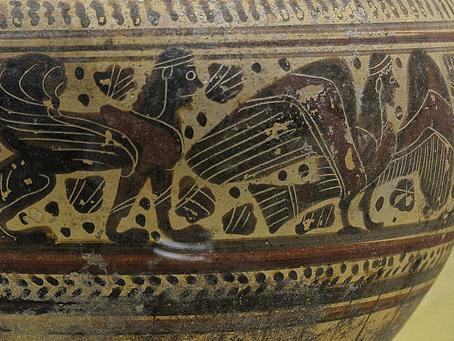 Periodo orientalizante del Arte Griego