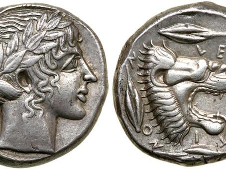 La moneda en la Grecia Antigua