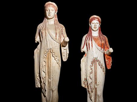 Escultura arcaica griega