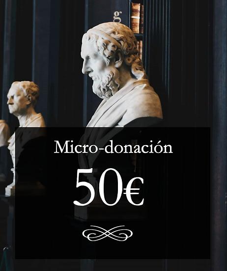Micro-donación 50€