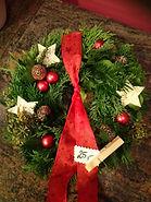 Türkranz Weihnachten Advent Blumen Gunskirchen Blumengeschäft Wildblüte