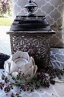 Blumen Gunskirchen Dekoration Laterne