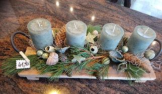Adventkranz Adventbrett Weihnachten Advent Blumen Gunskirchen Blumengeschäft Wildblüte