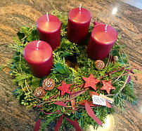 Adventkranz Weihnachten Advent Blumen Gunskirchen Blumengeschäft Wildblüte