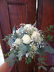 Brautstrauß Eucalyptus Wildblüte Blumen Gunskirchen