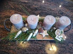 Adventbrett Adventkranz Weihnachten Advent Blumen Gunskirchen Blumengeschäft Wildblüte