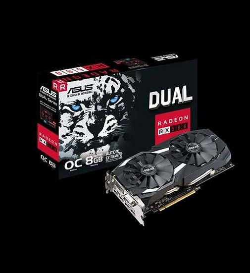 ASUS DUAL-RX580-O8G GRAPHIC CARD