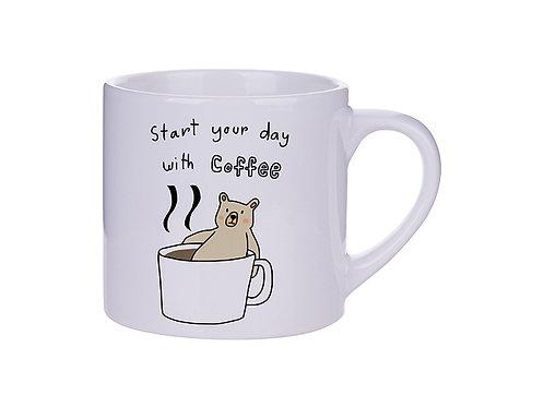 Mug Mediano Personalizado Para Café 6oz