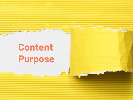 Content Marketing Strategy: Keeping Content on Purpose