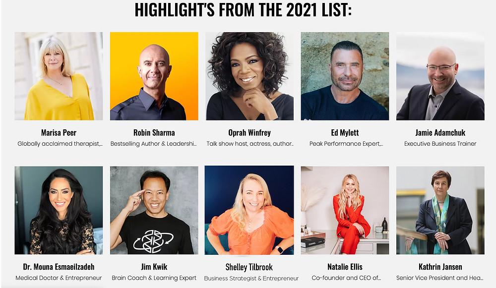 Brainz CREA Global Awards 2021