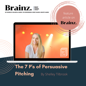 Powerful Persuasive Pitches - the 7 P's
