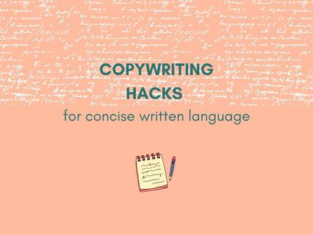 Concise Copywriting